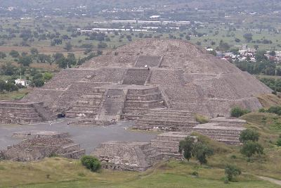 Teotihuacan Pyramid of the Moon Courtesy Wikipedia