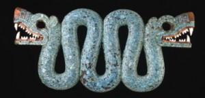 aztec serpent jade mosaic