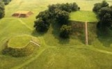 Etowah Mounds aerial view