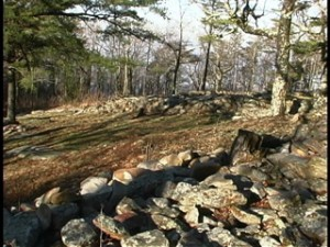 Fort Mountain stone wall