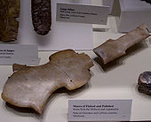 Mississippian ceremonial mace from Spiro Mounds