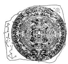 Aztec Calendar Stone of the Fifth Sun