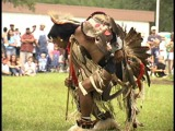 Native American dance demonstration