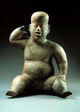 Olmec baby pots