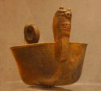 Caddoan Underwater Panther bowl