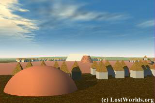 Swift Creek Burial Mound at Kolomoki Mounds