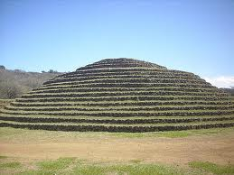 Circular pyramid of Teuchitlan tradition