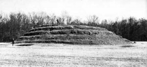 Spiral Mound at Lamar Mounds