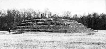 Lamar Mounds Spiral Mound