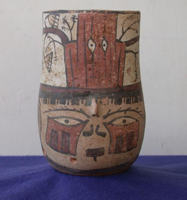 Nasca Decapitation Vessel