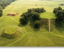 Etowah Mounds aerial