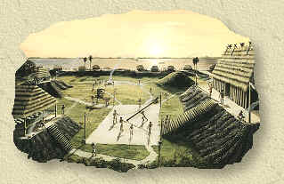 Florida Calusa NativeAmerican Shell Mound Village