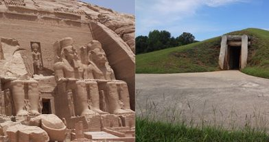 Ancient Temples in  Georgia and Egypt Share Solar Alignments