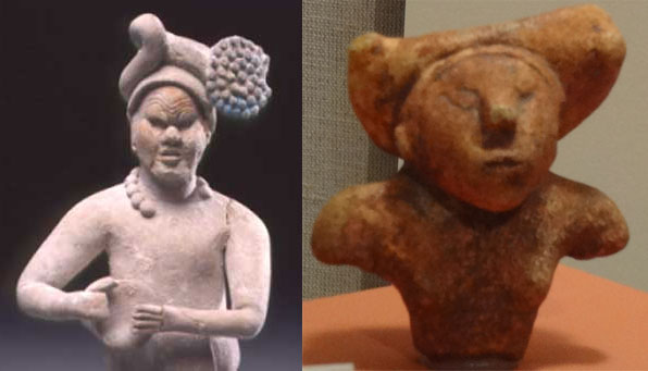 Mayan Glyphs, Figurines at Mandeville Site in Georgia