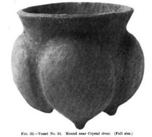 Mayan Pottery at Crystal River Site in Florida