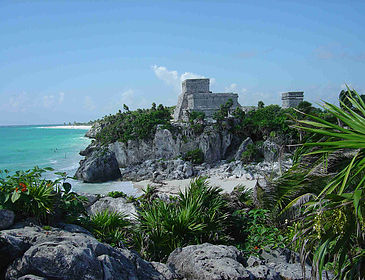 Tulum's Mayan Lighthouse